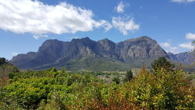 Αμπελώνες Νότια Αφρική του Καίηπ Τάουν Στοκ Φωτογραφία