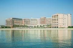 Αμπού Ντάμπι, Ηνωμένα Αραβικά Εμιράτα, στις 10 Ιουνίου 2017: Ξενοδοχείο του Carlton Ritz Στοκ εικόνα με δικαίωμα ελεύθερης χρήσης
