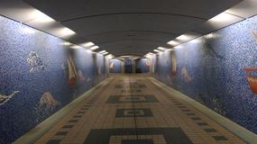 Αμπού Νταμπί κάτω από το έδαφος, Στοκ φωτογραφίες με δικαίωμα ελεύθερης χρήσης