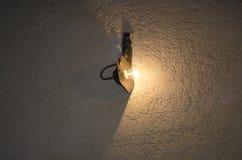 λαμπτήρας στον τοίχο Στοκ Φωτογραφία
