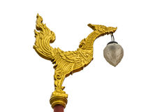 λαμπτήρας χρυσός Ταϊλανδός Στοκ εικόνες με δικαίωμα ελεύθερης χρήσης