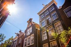 ΑΜΣΤΕΡΝΤΑΜ, ΚΑΤΩ ΧΏΡΕΣ - 15 ΑΥΓΟΎΣΤΟΥ 2016: Διάσημα κτήρια της κινηματογράφησης σε πρώτο πλάνο κέντρων της πόλης του Άμστερνταμ Γ Στοκ εικόνες με δικαίωμα ελεύθερης χρήσης