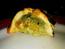 αμυδρό ποσό empanada που τηγανίζεται Στοκ φωτογραφία με δικαίωμα ελεύθερης χρήσης