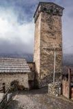 Αμυντικός πύργος στο mesti στοκ εικόνες με δικαίωμα ελεύθερης χρήσης