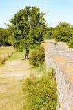 Αμυντικός τοίχος Στοκ φωτογραφία με δικαίωμα ελεύθερης χρήσης