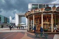 Αμυντικό εμπορικό κέντρο Λα στο Παρίσι Στοκ Φωτογραφία