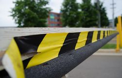 Αμυντικό εμπόδιο Στοκ φωτογραφία με δικαίωμα ελεύθερης χρήσης