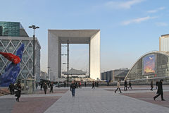 αμυντικό Λα Παρίσι Στοκ εικόνες με δικαίωμα ελεύθερης χρήσης