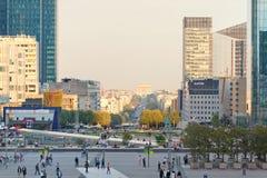 αμυντικό Λα Παρίσι Στοκ εικόνα με δικαίωμα ελεύθερης χρήσης