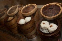 Αμυδρά κουλούρια ατμού ποσού (κινεζικές μπουλέττες) στοκ φωτογραφία με δικαίωμα ελεύθερης χρήσης