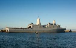 Αμφίβια αποβάθρα μεταφορών - USS Νέα Ορλεάνη Στοκ φωτογραφίες με δικαίωμα ελεύθερης χρήσης