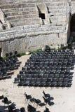 αμφιθέατρο αρχαίος Ρωμαίος Στοκ Εικόνες