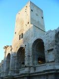Αμφιθέατρο Ρομάν, Arles (Γαλλία) Στοκ Φωτογραφία