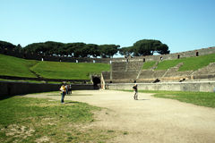 αμφιθέατρο Ρωμαίος Στοκ εικόνα με δικαίωμα ελεύθερης χρήσης