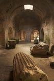 αμφιθέατρο Ρωμαίος Στοκ Φωτογραφίες