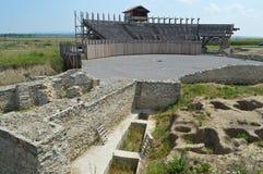 αμφιθέατρο Ρωμαίος Στοκ Φωτογραφία