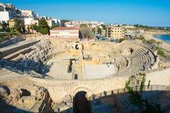 αμφιθέατρο ρωμαϊκή Ισπανία tar Στοκ φωτογραφίες με δικαίωμα ελεύθερης χρήσης