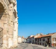 Αμφιθέατρο σε Arles, Γαλλία Στοκ Φωτογραφίες