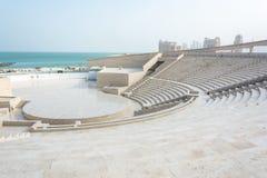Αμφιθέατρο στο πολιτιστικό χωριό Katara σε Doha, Κατάρ στοκ εικόνες με δικαίωμα ελεύθερης χρήσης