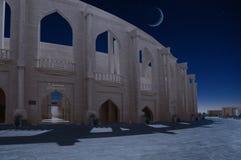 Αμφιθέατρο στο πολιτιστικό χωριό Katara, Doha Κατάρ στοκ φωτογραφία