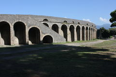 Αμφιθέατρο της Πομπηίας στοκ εικόνες με δικαίωμα ελεύθερης χρήσης