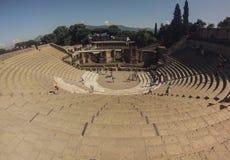 Αμφιθέατρο της Πομπηίας στοκ φωτογραφία με δικαίωμα ελεύθερης χρήσης