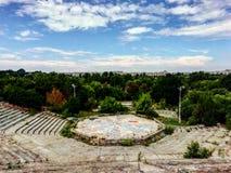 Αμφιθέατρο του Βουκουρεστι'ου στοκ εικόνα