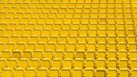 Αμφιθέατρο του σκοτεινού κίτρινου αφηρημένου υποβάθρου καθισμάτων Στοκ Φωτογραφία