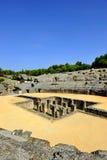 Αμφιθέατρο Italica, ρωμαϊκή πόλη στη Σεβίλη, Ανδαλουσία, Ισπανία στοκ φωτογραφία με δικαίωμα ελεύθερης χρήσης