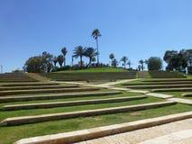 Αμφιθέατρο Tiroh σε Jaffa στο Τελ Αβίβ στοκ φωτογραφία