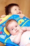 αμφιθαλείς μωρών Στοκ εικόνα με δικαίωμα ελεύθερης χρήσης