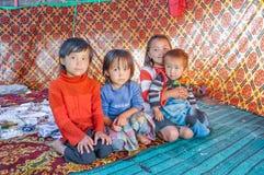 Αμφιθαλείς σε Arslanbob στο Κιργιστάν Στοκ Φωτογραφία