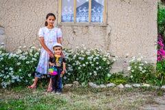 Αμφιθαλείς στο Κιργιστάν Στοκ Φωτογραφία