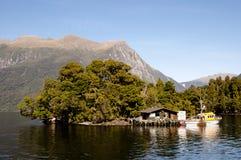 Αμφισβητήσιμος ήχος - Νέα Ζηλανδία στοκ εικόνες