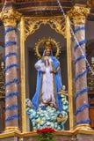 Αμόλυντες καλόγριες SAN Miguel Μεξικό σύλληψης μονών αγαλμάτων της Mary Στοκ Φωτογραφία