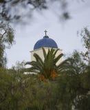 Αμόλυντος πύργος εκκλησιών σύλληψης Στοκ φωτογραφία με δικαίωμα ελεύθερης χρήσης