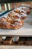 αμύγδαλο croissant Στοκ εικόνα με δικαίωμα ελεύθερης χρήσης