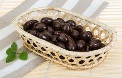 Αμύγδαλο στη σοκολάτα Στοκ φωτογραφία με δικαίωμα ελεύθερης χρήσης