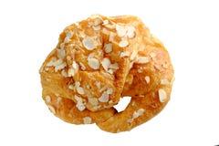 Αμύγδαλο Croissant Στοκ Εικόνες