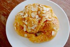 Αμύγδαλο Croissant Στοκ φωτογραφία με δικαίωμα ελεύθερης χρήσης