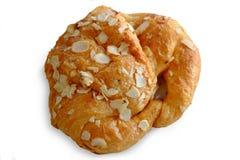 Αμύγδαλο Croissant Στοκ εικόνες με δικαίωμα ελεύθερης χρήσης