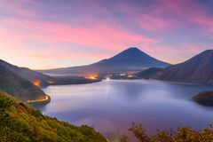 ΑΜ Φθινόπωρο του Φούτζι, Ιαπωνία στοκ εικόνες