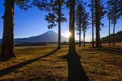 ΑΜ Φούτζι σε Fumoto campground Στοκ φωτογραφίες με δικαίωμα ελεύθερης χρήσης