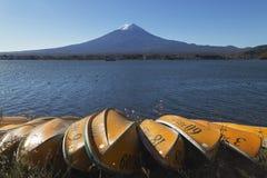 ΑΜ Φούτζι το φθινόπωρο, Ιαπωνία Στοκ Εικόνες