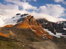 ΑΜ Χώρος στάθμευσης Canadian Rockies Icefields Athabasca Στοκ εικόνες με δικαίωμα ελεύθερης χρήσης