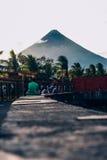 ΑΜ Albay phillipines MAYON Στοκ Φωτογραφίες