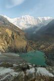 ΑΜ Annapurna Ι στο Νεπάλ Στοκ φωτογραφία με δικαίωμα ελεύθερης χρήσης