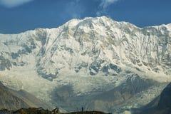 ΑΜ Annapurna Ι στο Νεπάλ Στοκ φωτογραφίες με δικαίωμα ελεύθερης χρήσης