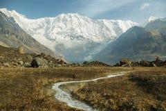ΑΜ Annapurna Ι στο Νεπάλ Στοκ εικόνα με δικαίωμα ελεύθερης χρήσης
