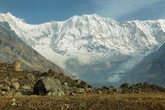 ΑΜ Annapurna Ι στο Νεπάλ Στοκ εικόνες με δικαίωμα ελεύθερης χρήσης
